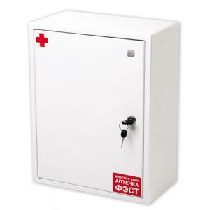 Аптечка ФЭСТ производственная металлический шкаф 250х310х100 №7.3 (арт.1063)