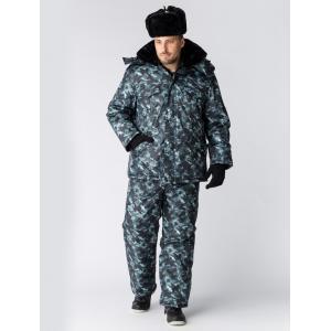 Куртка зимняя для Охранника КМФ, город