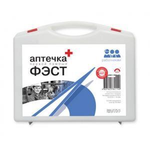 Аптечка ФЭСТ первой помощи работникам футляр из полистирола 285х255х100 (арт.1129)