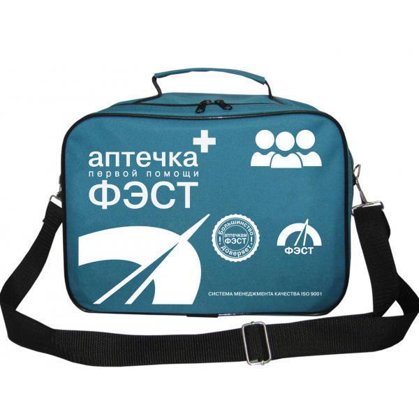 Аптечка ФЭСТ коллективная для ЗС ГО №1 на 100-150 человек (сумка) (арт.1194)