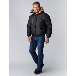 Куртка зимняя Аляска укороченная (Оксфорд) ЭТАЛОН, черный