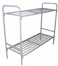 Кровать металлическая двухъярусная сетка