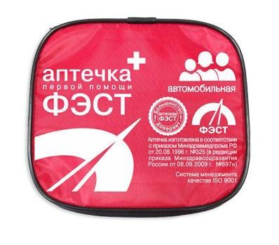 Аптечка ФЭСТ автомобильная мягкий футляр (арт.2126)
