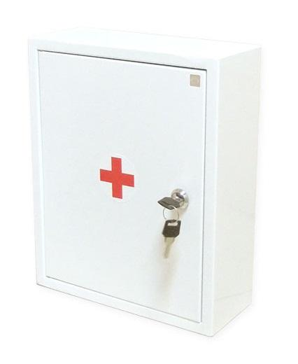 Аптечка ФЭСТ первой помощи работникам металлический шкаф 300х380х160 (арт.1156)